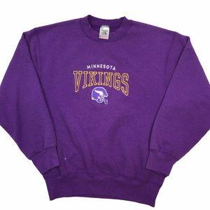 Vintage Minnesota Vikings NFL crewneck